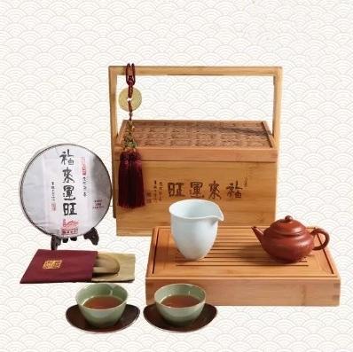 龙华寺便携式产茶套装
